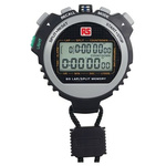 RS PRO Black Digital Pocket Stopwatch, Calibrated RSCAL
