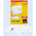 Avery White Address Label, 199.6 x 143.5mm, Pack of 100