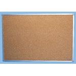 Deeside Technology Notice Board Brown Cork, 1800 x 900mm