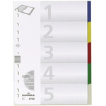 Durable Assorted A4 File Divider