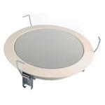 Visaton White Ceiling Speaker, DL 18/1 100 V (RAL 9010) 6W