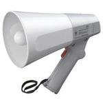 TOA Grey Hand Grip Megaphone, ER-520, 6 W