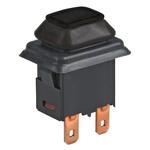 Marquardt Single Pole Single Throw (SPST) Latching Push Button Switch, IP40, IP65, IP67, 15 x 21mm, Panel Mount