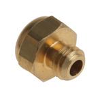 Legris 0673 Brass, Sintered Bronze 12bar Pneumatic Silencer, Threaded, M5 x 0.8 Male