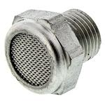 Legris 0682 Stainless Steel 12bar Pneumatic Silencer, Threaded, G 1/8 Male