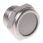 Legris 0682 Stainless Steel 12bar Pneumatic Silencer, Threaded, G 1/4 Male