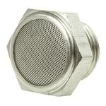 Legris 0682 Stainless Steel 12bar Pneumatic Silencer, Threaded, G 1/2 Male