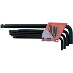 Teng Tools 9 pieces Hex Key Set,  L Shape 1.5mm