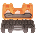 Bahco D-DD/S20 20 Piece Socket Set, 1/2 in Square Drive