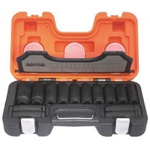 Bahco DD/S14 14 Piece Socket Set, 1/2 in Square Drive