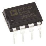 AD711JNZ Analog Devices, Op Amp, 3MHz, 8-Pin PDIP