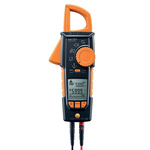 Testo 770-3 AC/DC Clamp Meter, Max Current 600A ac CAT 3 1000 V, CAT 4 600 V With UKAS Calibration