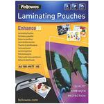 Fellowes A4 Matte Lamination Pouch 80micron, 100