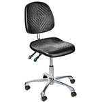 RS PRO Fabric Lab Chair Grey