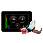 4D Systems, gen4 5in Arduino Compatible Display with Capacitive Touch Screen