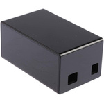 DesignSpark Black Arduino Case for use with Arduino UNO and Ethernet Shield