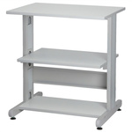 RS PRO 3 Shelf Printer Stand, 80kg Max. Load