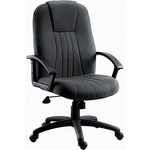 RS PRO Fabric Executive Chair Grey