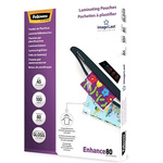 Fellowes A5 Glossy Lamination Pouch 80micron, 100