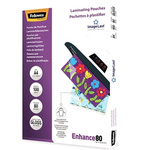 Fellowes A4 Glossy Lamination Pouch 80micron, 100