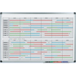 Legamaster Yearly Magnetic Wall Planner, 900 x 600mm