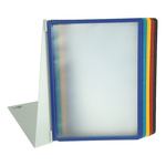 Durable Black, Blue, Green, Red, Yellow Desktop Document Holder