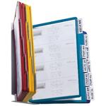 Durable Wall Mounted 20 Panel Presentation Folder