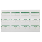 RS PRO Adhesive Pre-Printed Adhesive Label-Tested-. Quantity: 120