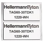 HellermannTyton Panel Marking 596-00576 TAG27-12.5TDK1-1221-SR-1221-ML (1000)