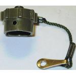 ITT Cannon Male Circular Connector Dust Cap, Shell Size 18