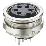 Lumberg 7 Pole Din Socket, DIN EN 60529, 5A, 60 V ac IP68