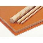 Brown Plastic Sheet, 590mm x 285mm x 12mm, Phenolic Resin, Weave Cotton