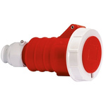 Bals IP67 Red Cable Mount 3P+N+E Industrial Power Socket, Rated At 32.0A, 415.0 V