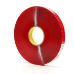 3M 4905F, VHB™ Clear Foam Tape, 12mm x 66m, 0.5mm Thick
