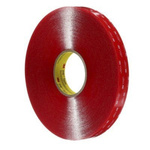 3M 4910F, VHB™ Clear Foam Tape, 25mm x 33m, 1mm Thick