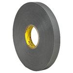 3M 4943F, VHB™ Grey Foam Tape, 19mm x 33m, 1.1mm Thick
