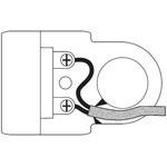 Legrand French / German Mains Connector Type C - Europlug, 6A, Cable Mount, 230 V ac