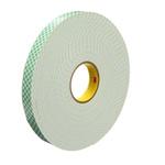 3M 4026 White Foam Tape, 19mm x 33m, 1.6mm Thick