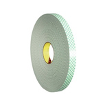 3M 4032 White Foam Tape, 19mm x 66m, 0.8mm Thick
