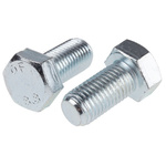 Clear Passivated, Zinc Steel Hex M20 x 40mm Set Screw