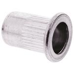 17.3mm Plain Steel Tubular Rivet, 11.9mm diameter, 0.5 → 3 mm Thickness
