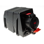Emerson Network Power Surface Mount 3PN+E Industrial Power Socket ATEX, IECEx, Rated At 16.0A, 380-415Vac 50/60Hz