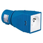 Legrand IP40 Blue Industrial Power Connector Adapter, Rated At 16.0A, 230.0 V