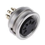 Lumberg 5 Pole Din Socket, DIN EN 60529, 60 V ac IP68