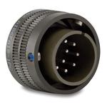 Amphenol Aerospace, ER 8 Way Cable MIL Spec Circular Connector Plug, Socket Contacts