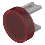 Red Round Push Button Lens for use with 31 Series