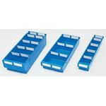 Linpac Storage Systems PP Storage Bin Storage Bin, 80mm x 188mm, Blue