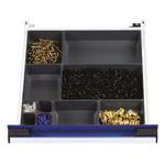 Bott Plastic Storage Bin Storage Bin, 100mm x 400mm