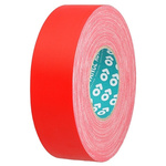 Advance Tapes AT160 Matt Red Cloth Tape, 12mm x 50m, 0.33mm Thick