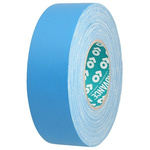 Advance Tapes AT160 Matt Blue Cloth Tape, 12mm x 50m, 0.33mm Thick